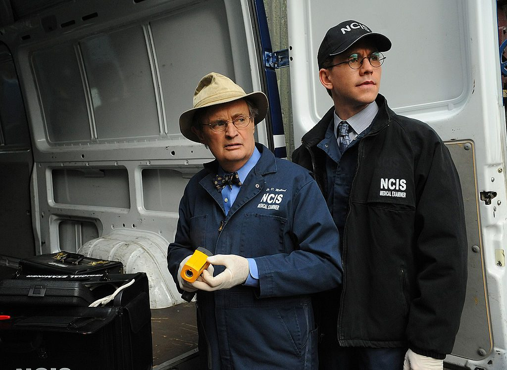 David McCallum as Donald Ducky Mallard and Brian Dietzen as Jimmy Palmer | Ron P. Jaffe/CBS via Getty Images