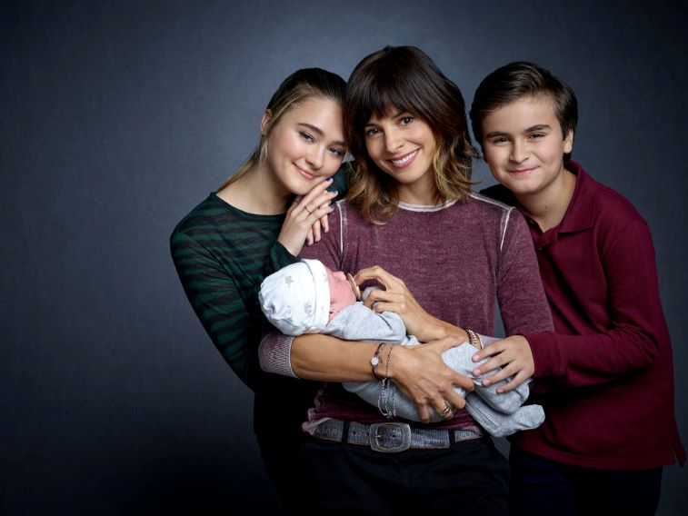 Delilah, Sophie, Danny and Baby Charlie