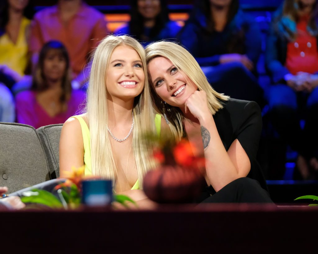 Demi Burnett and Kristian Haggerty on the Bachelor in Paradise finale