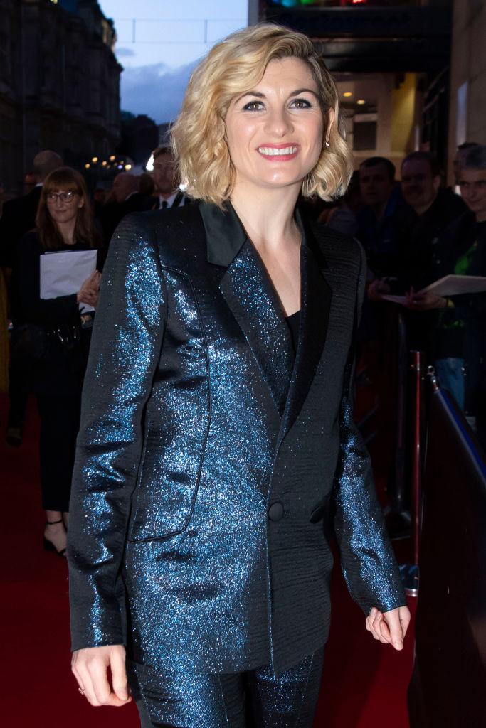 Jodie Whittaker of Doctor Who at the BAFTA Cymru Awards