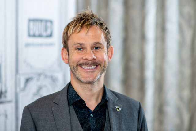 Dominic Monaghan at Build Studio | Roy Rochlin/Getty Images