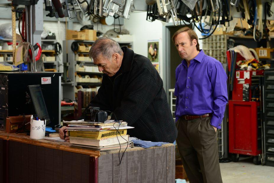 Ed with Saul Goodman