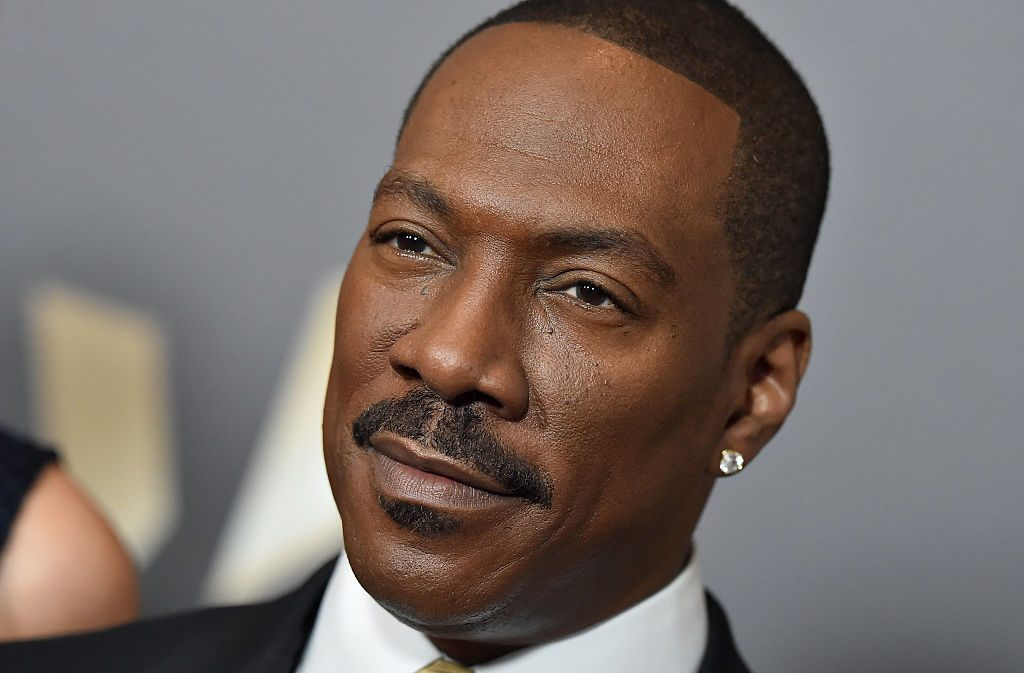 Eddie Murphy arrives at the 20th Annual Hollywood Film Awards