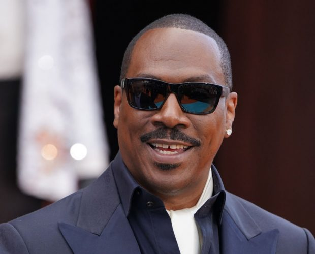 Eddie Murphy at the premiere of 'Dolemite Is My Name'