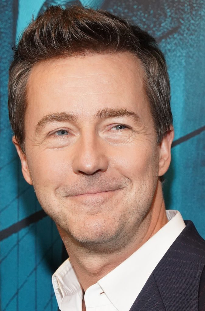 """Edward Norton attends the premiere of' """"Motherless Brooklyn"""""""