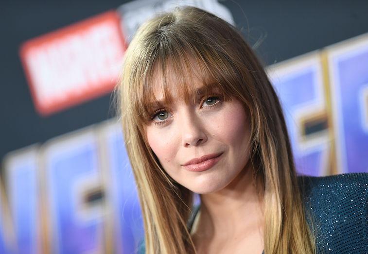 Elizabeth Olsen on the red carpet