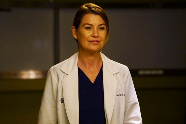 Ellen Pompeo as Dr. Meredith Grey on 'Grey's Anatomy'