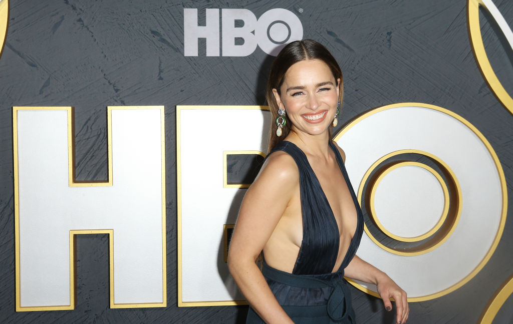 Emilia Clarke the night of the Emmys