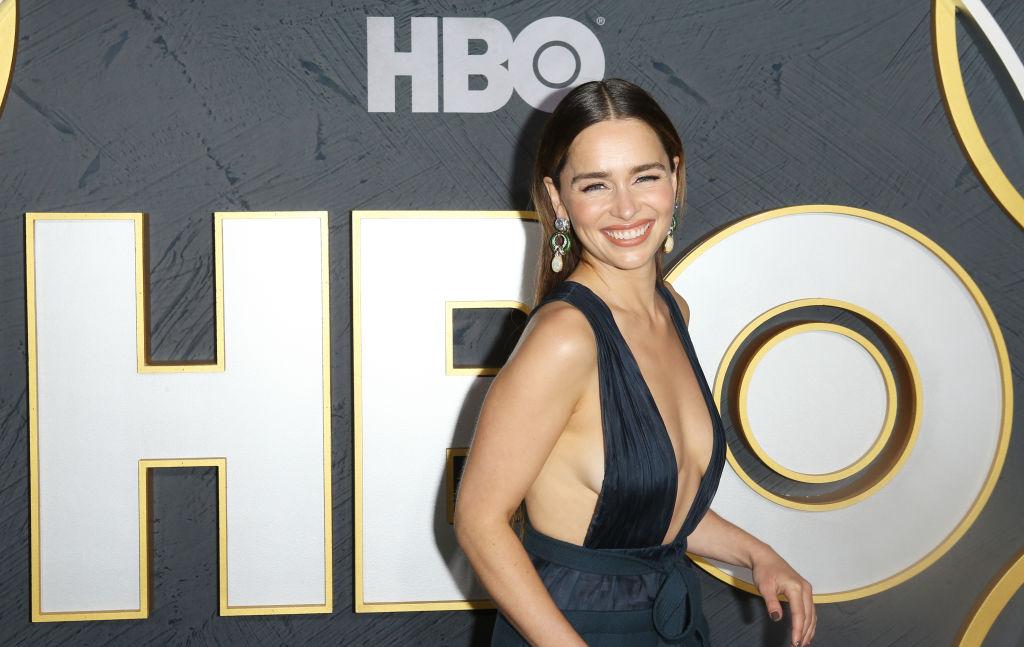 Emilia Clarke the night of the Emmys