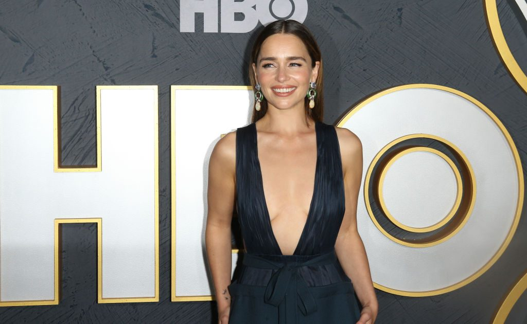 Emilia Clarke Reveals Who Left Coffee Cup On Game Of Thrones Set