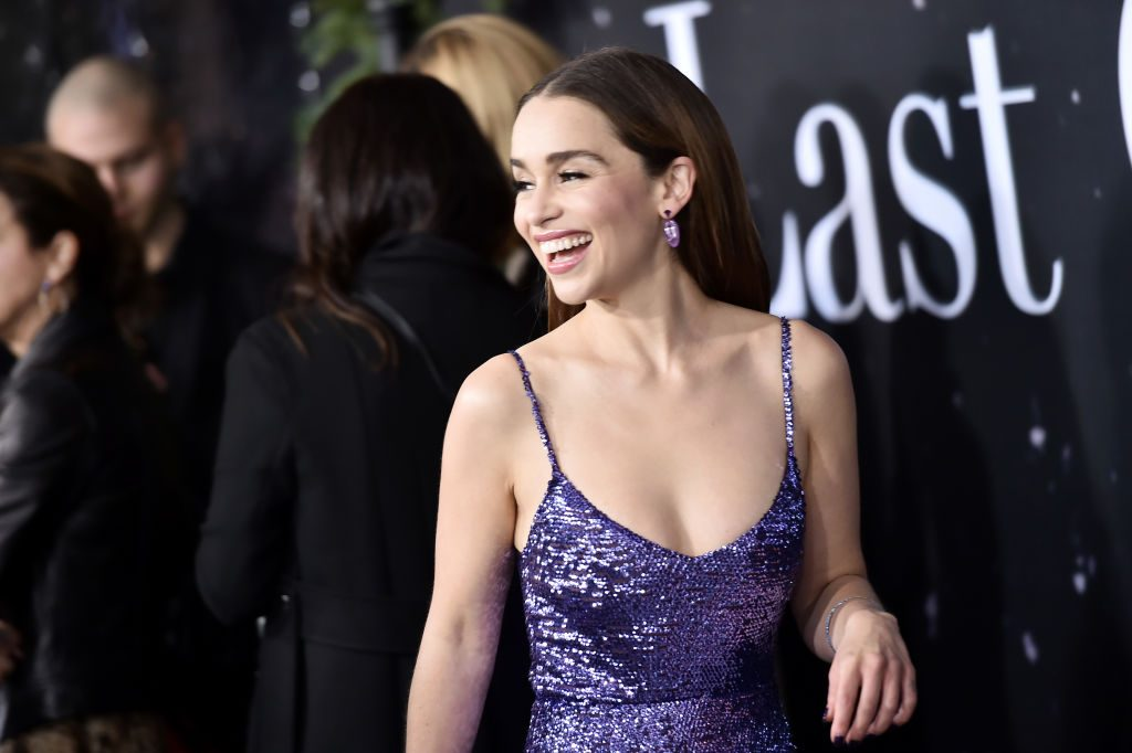 "Emilia Clarke at ""Last Christmas"" New York Premiere"