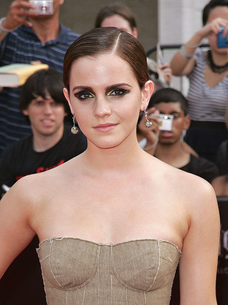 Emma Watson (Hermione Granger) at the Harry Potter and the Deathly Hallows Part Two premiere
