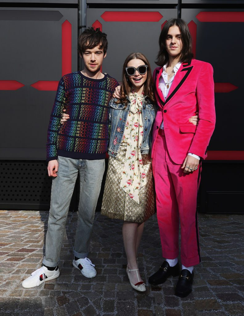 Alex Lawther, Jessica Barden, and Earl Cave from 'The End of the F***ing World'