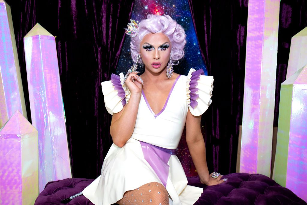 Farrah Moan attends the  RuPaul's DragCon