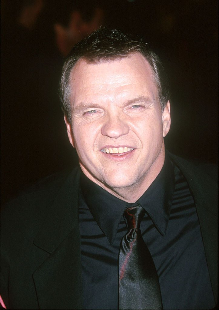 Meat Loaf at the Fight Club premiere