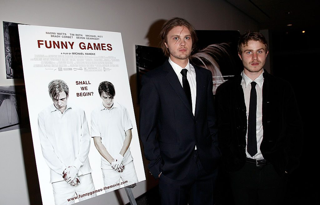 Funny Games' Michael Pitt and Brady Corbet