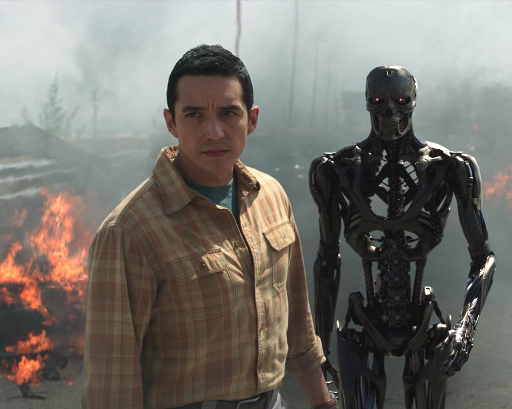 Gabriel Luna as the Rev-9