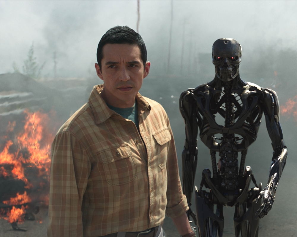 Gabriel Luna as the Rev-9