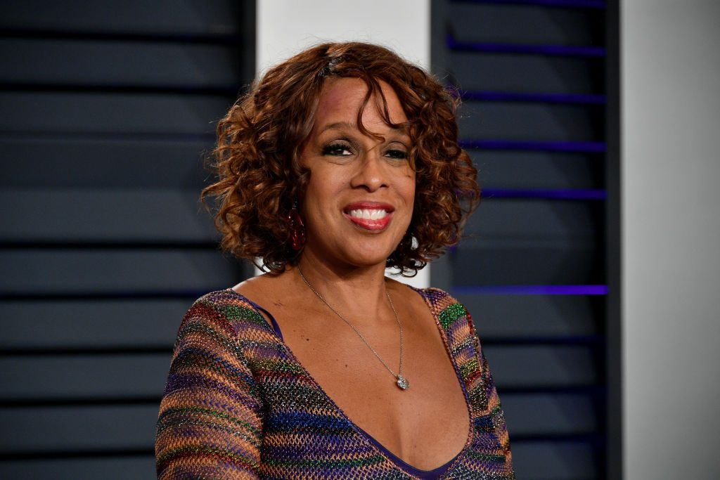 Gayle King attends the 2019 Vanity Fair Oscar Party