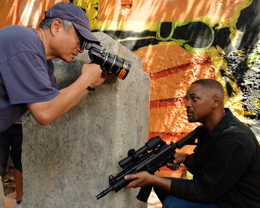 Ang Lee and Will Smith making Gemini Man