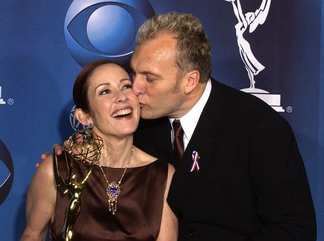 Patricia Heaton and husband David Hunt