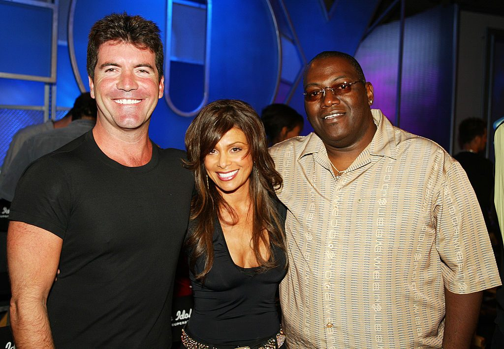 Left to right: Former 'American Idol' judges Simon Cowell, Paula Abdul, and Randy Jackson in 2002