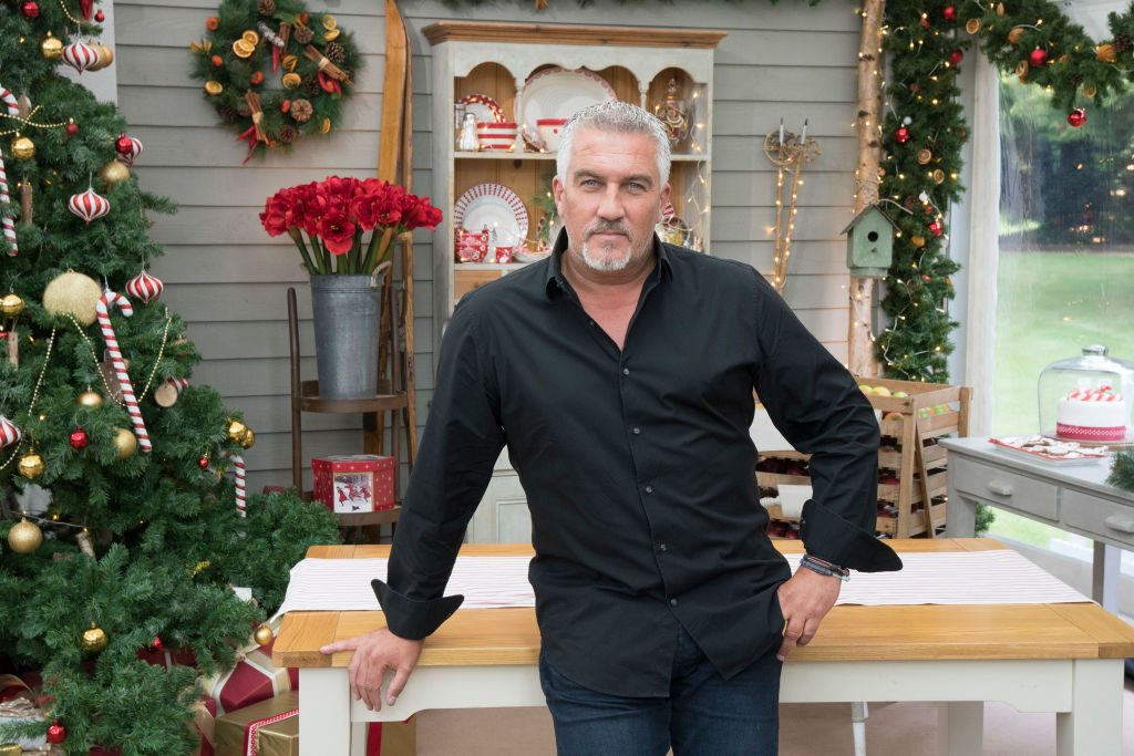 Paul Hollywood of 'The Great British Baking Show'