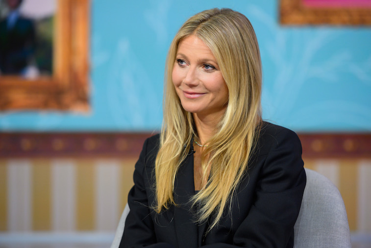 Gwyneth Paltrow on the set of Today show