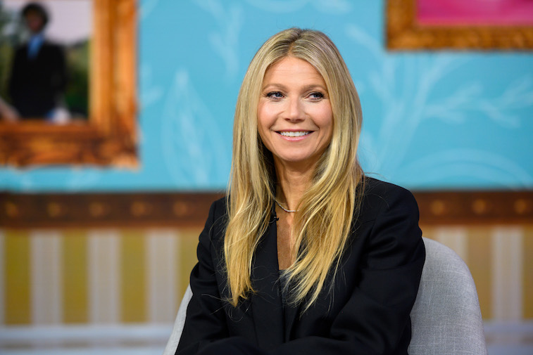 Gwyneth Paltrow on the Today show