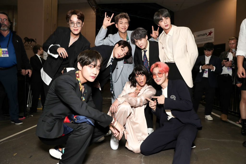 BTS and Halsey Billboard Music Awards - Season 2019