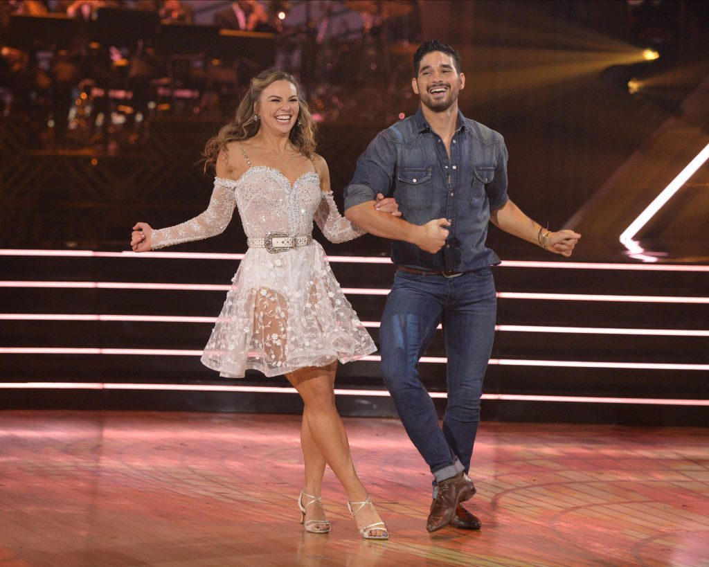 Hannah Brown and Alan Bersten on 'Dancing with the Stars'