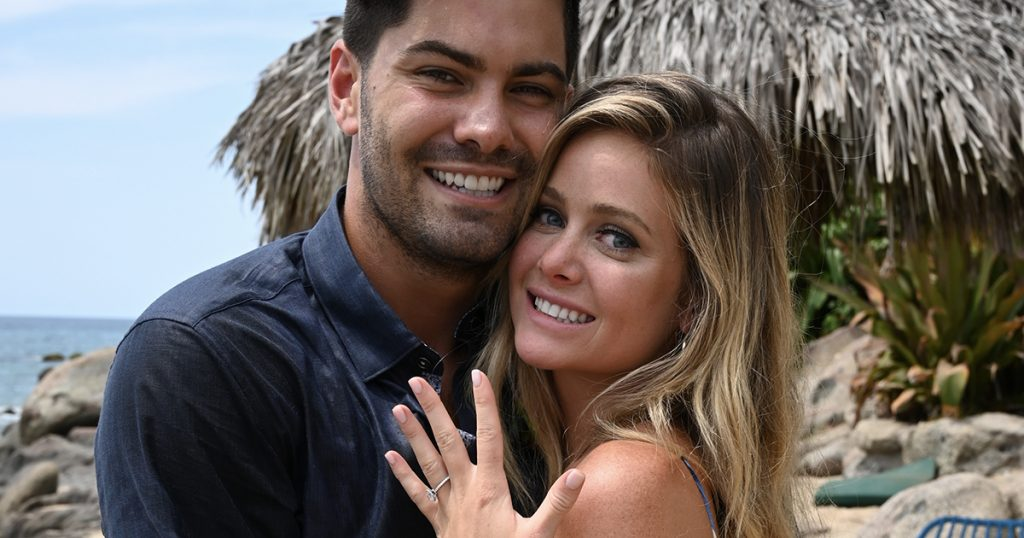 Hannah Godwin Dylan Barbour Engagement Ring Bachelor in Paradise