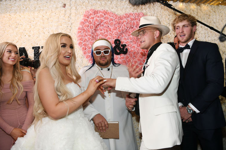 Jake Paul and Tana Mongeau getting married