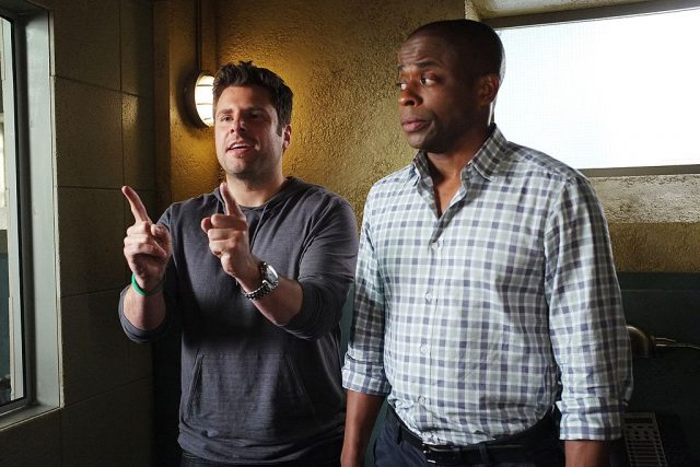 James Roday and Dulé Hill in 'Psych'