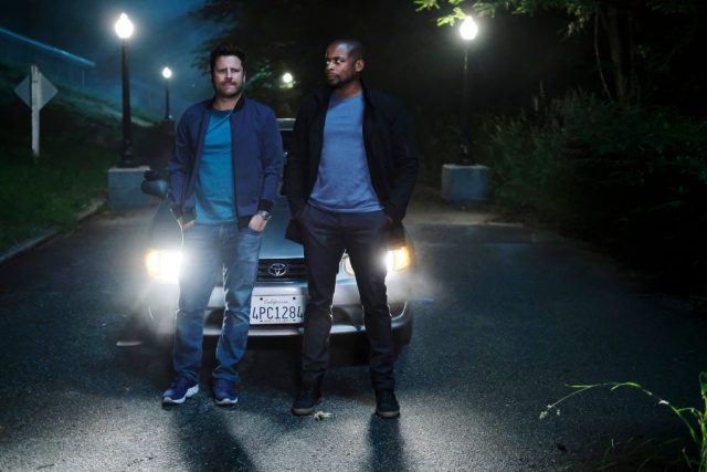 James Roday and Dulé Hill in 'Psych : The Movie'