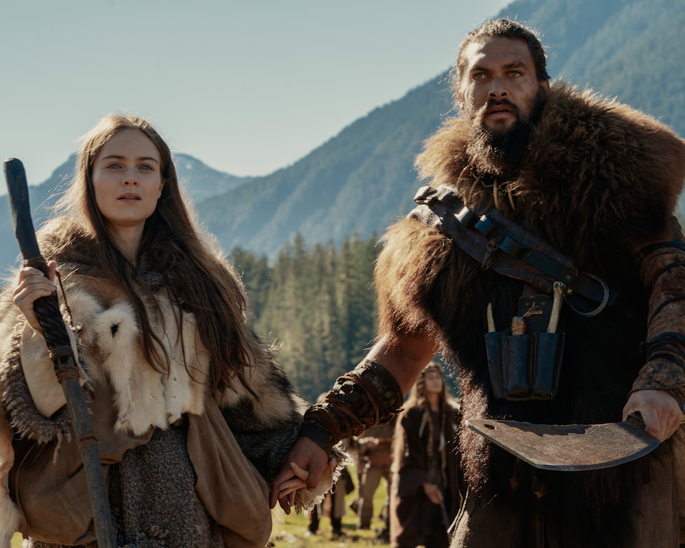 Hera Hilmar and Jason Momoa in See