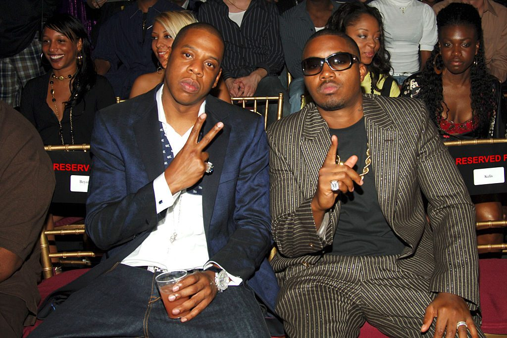 Jay-Z and Nas