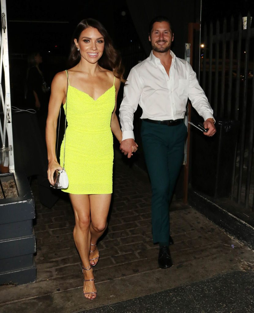 Jenna Johnson and Val Chmerkovskiy | Hollywood To You/Star Max/GC Images