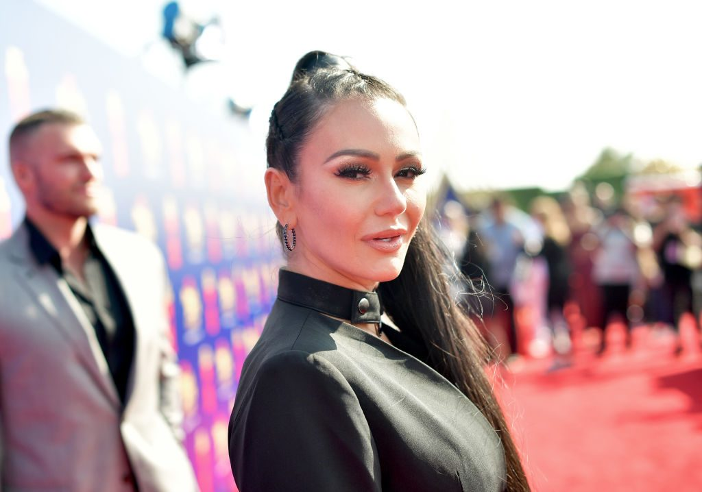 Jenni 'JWoww' Farley attends the 2019 MTV Movie and TV Awards