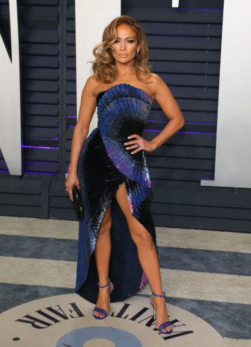 Jennifer Lopez at the 2019 Vanity Fair Oscar Party