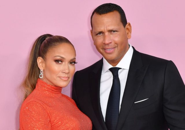 Alex Rodriguez and Jennifer Lopez in 2019 at the CFDA awards