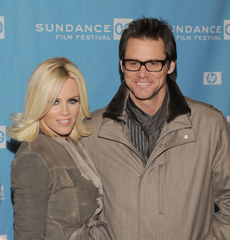 Jenny McCarthy and Jim Carrey at Sundance Film Festival