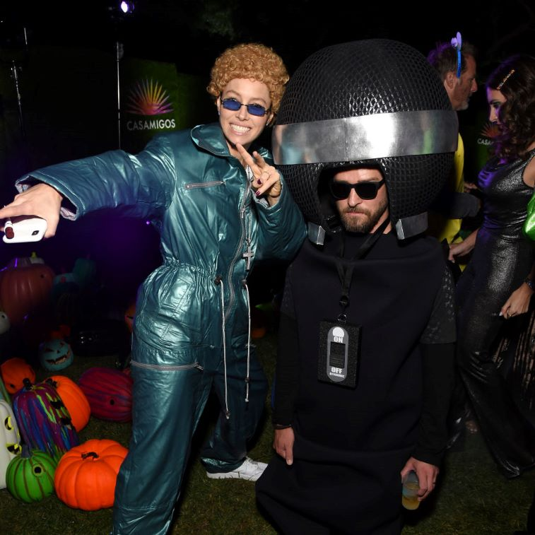 Jessica Biel and Justin Timberlake