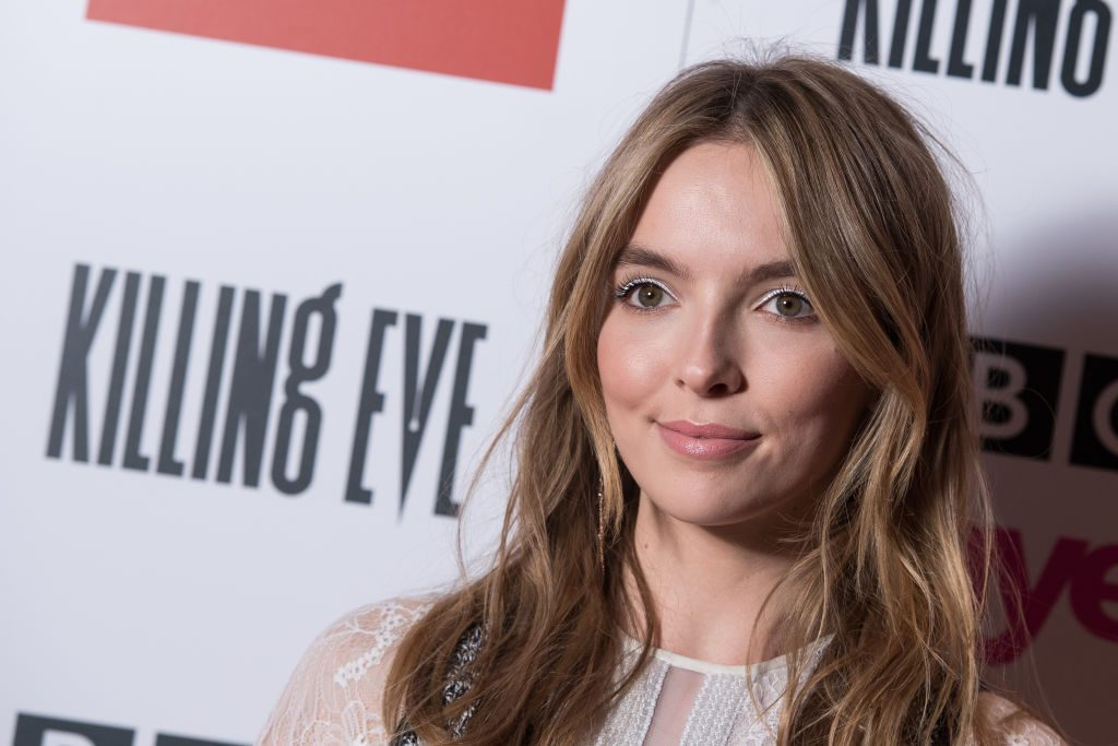 Jodie Comer at the Killing Eve season 2 premiere