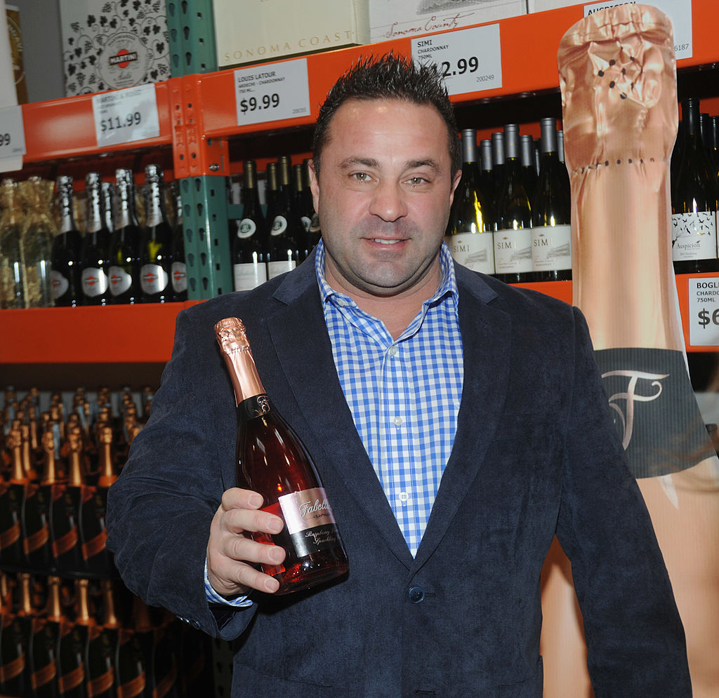 Joe Giudice attends the Fabellini Bottle Signing