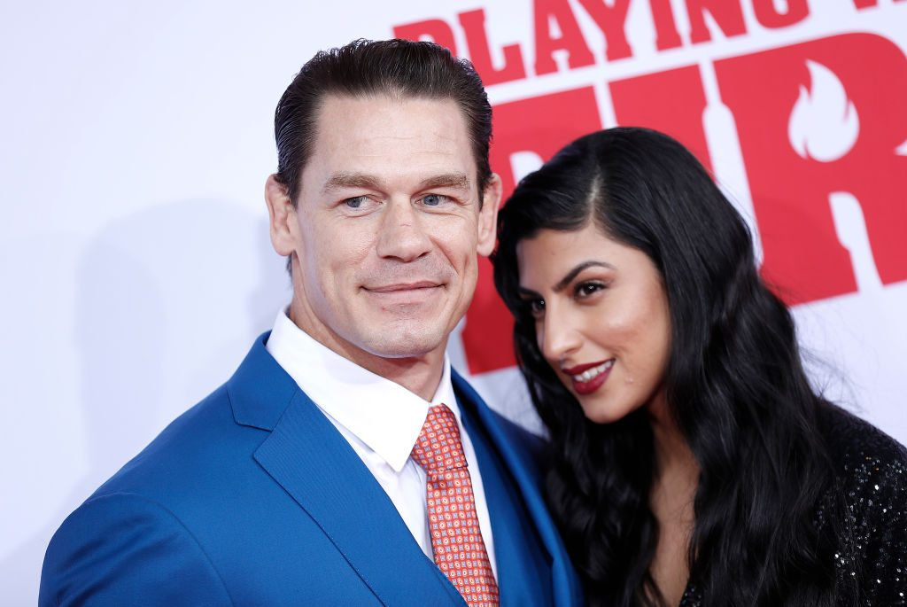 """John Cena and Shay Shariatzadeh attend """"Playing With Fire"""" New York Premiere"""
