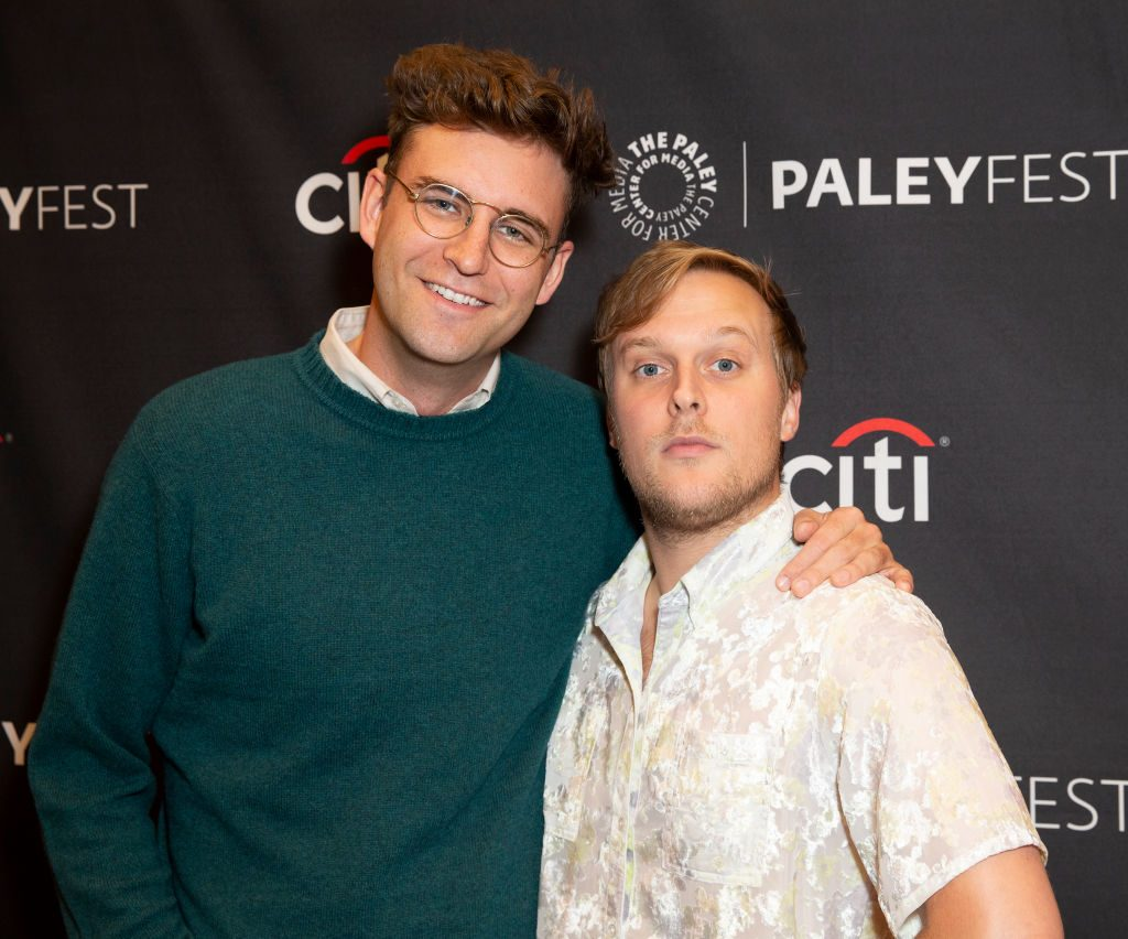 John Reynolds and John Early attend PaleyFest 2019: Search Party screening