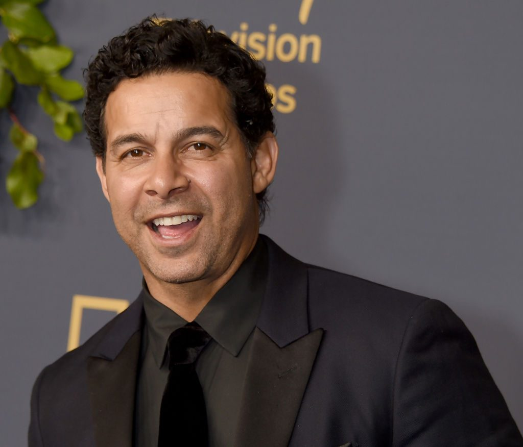 Jon Huertas on the red carpet