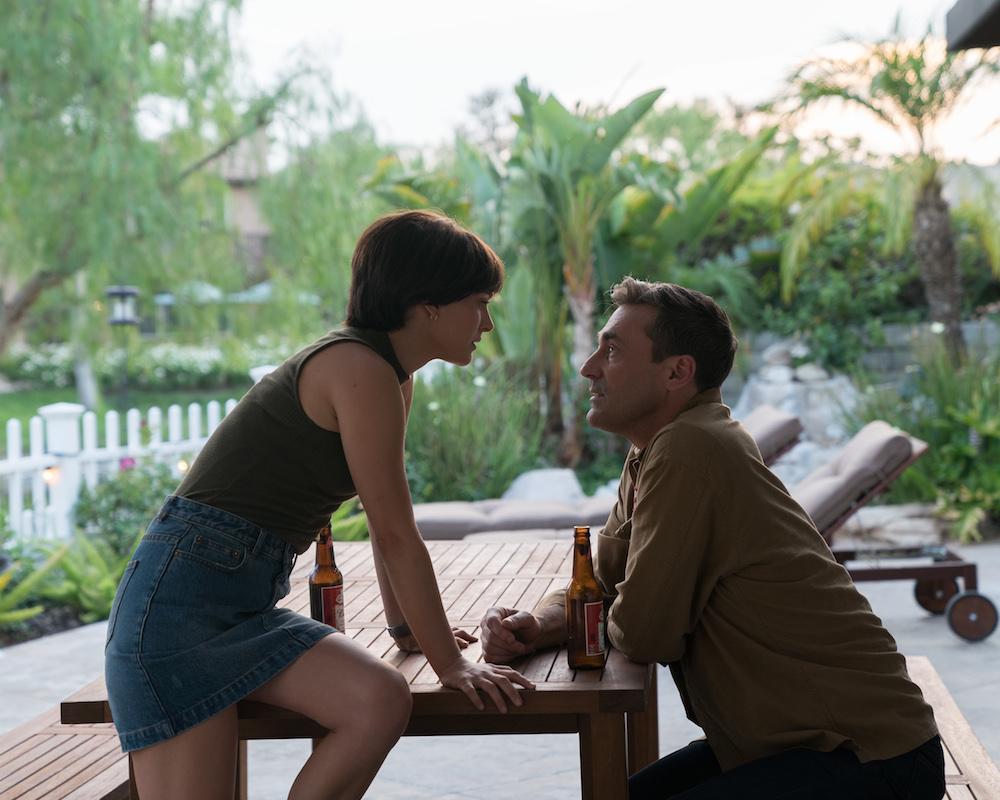 Jon Hamm and Natalie Portman