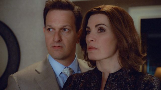 Josh Charles and Julianna Marguiles in 'The Good Wife'